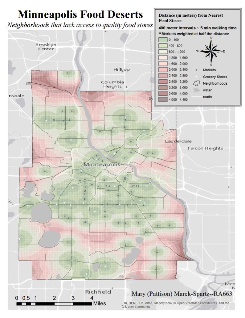 Minneapolis Food Deserts